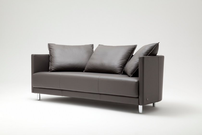 onda sofa aus leder kollektion onda by rolf benz design. Black Bedroom Furniture Sets. Home Design Ideas