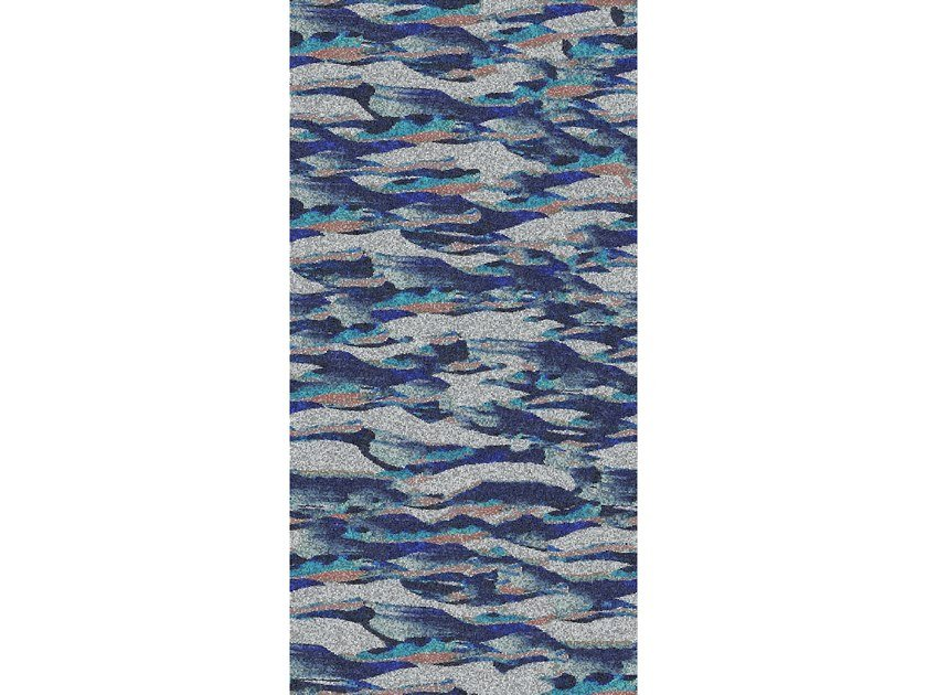 Glass mosaic ONDE ARGENTO by Mutaforma