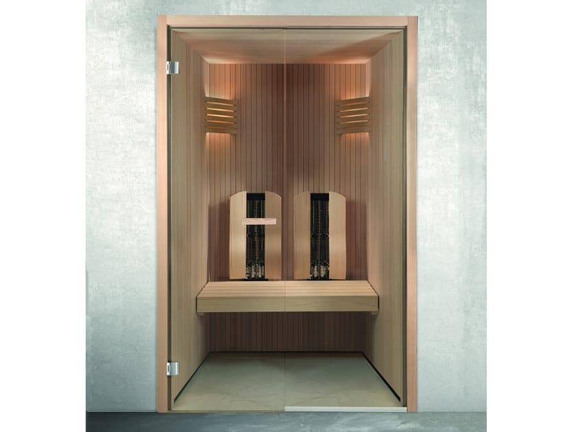 Sauna de rayos infrarrojos prefabricada ONE INFRARED by CARMENTA