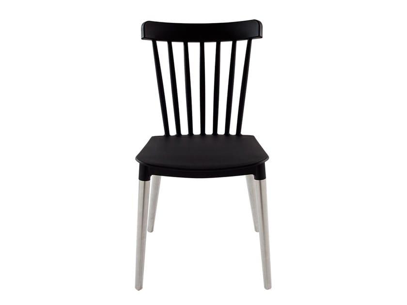 Plastic restaurant chair ONE | Chair by Vela Arredamenti