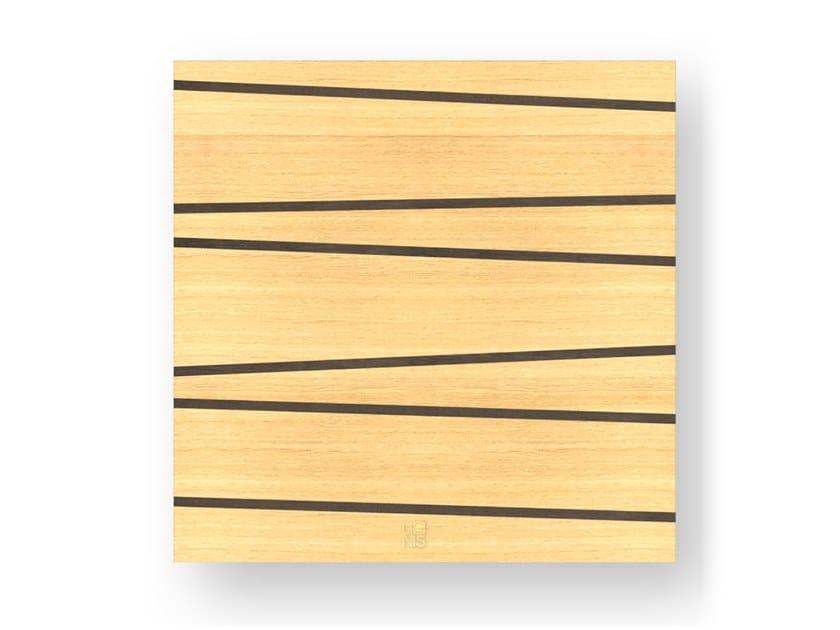 Quadro in legno intarsiato ONE WARM by LIGNIS®