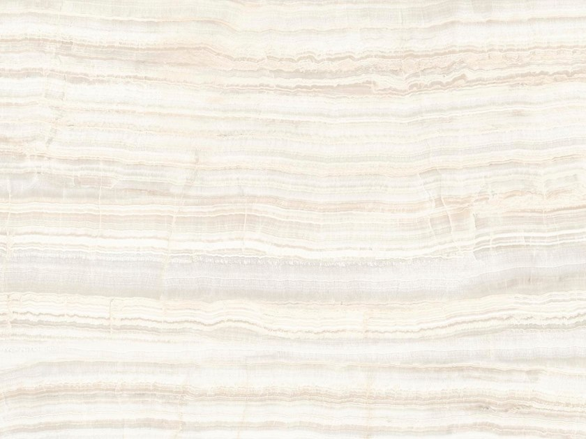Indoor/outdoor technical ceramic wall/floor tiles with marble effect ONICE AVORIO by FMG
