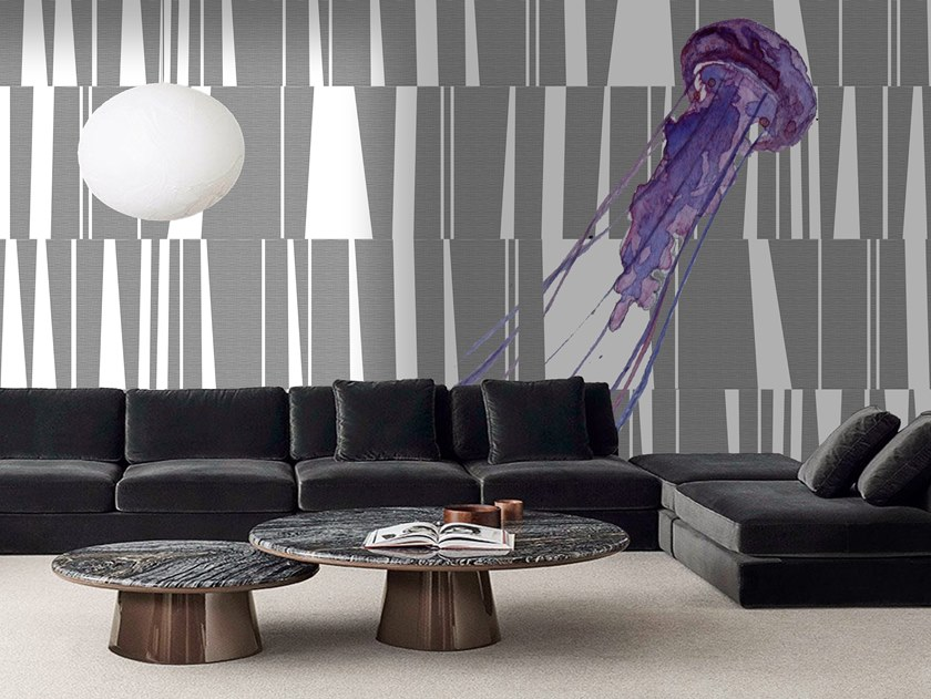 Wall tiles / wallpaper OPALESCENCE by Officinarkitettura®