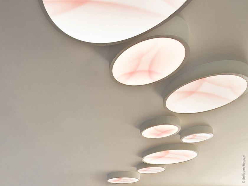 LED ceiling light with dimmer OPALIA | Ceiling lamp by Bottazzi Light