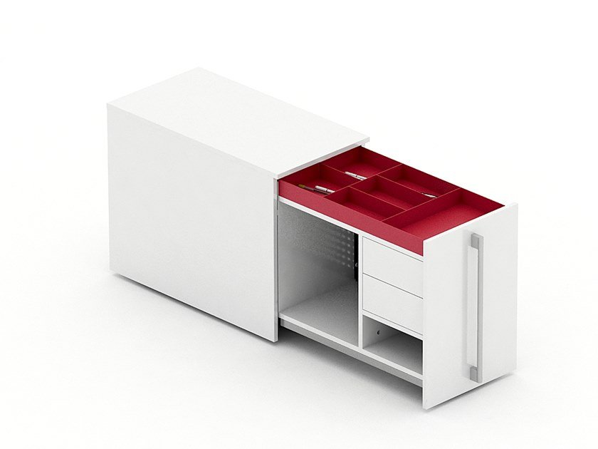 Office drawer unit OPEN GARAGE | Office drawer unit by Tuna Ofis