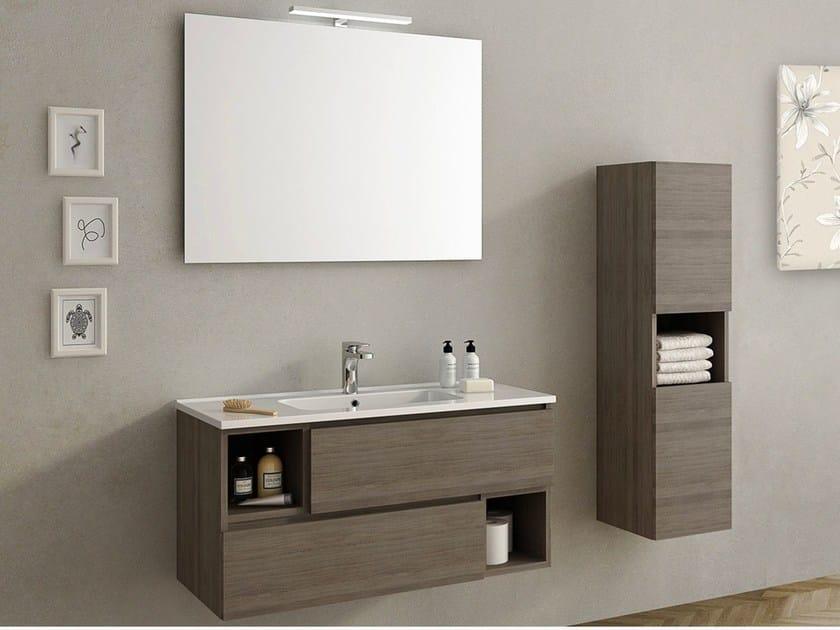 Lavabo Con Mobiletto Sospeso : Mobile lavabo sospeso open collezione mobiletti bagno by remail by