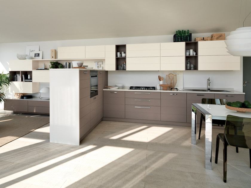 Fitted kitchen OPEN by Scavolini