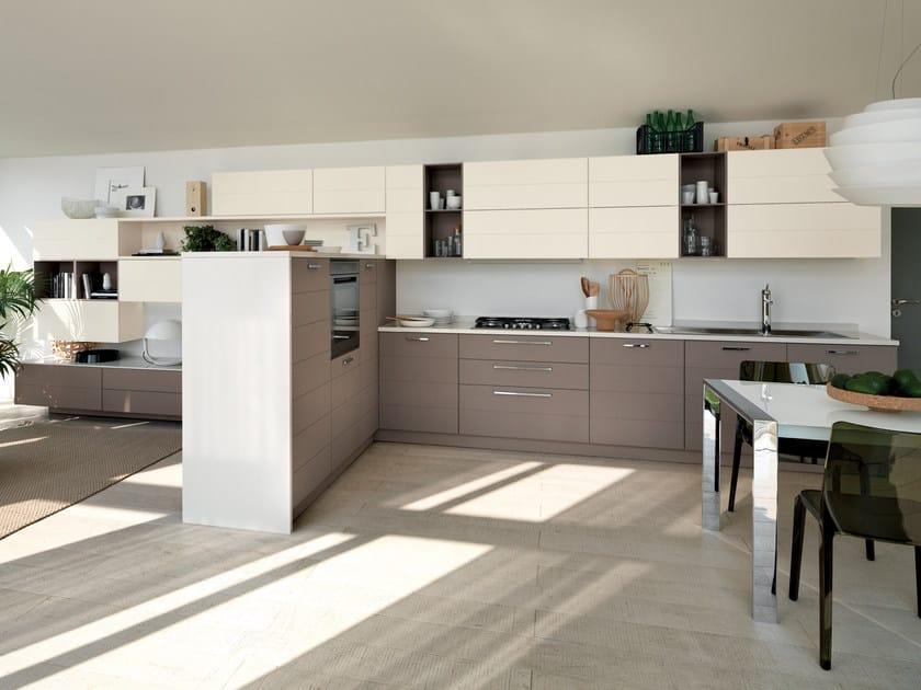 Fitted kitchen open scavolini line by scavolini for Scavolini prices