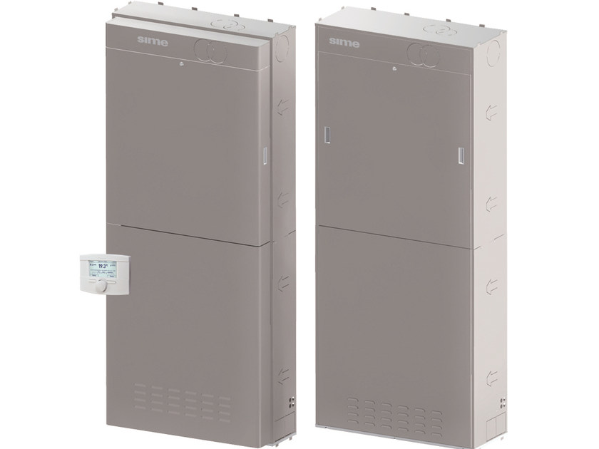 Wall-mounted outdoor condensation boiler OPEN SOLAR HE ERP by Sime