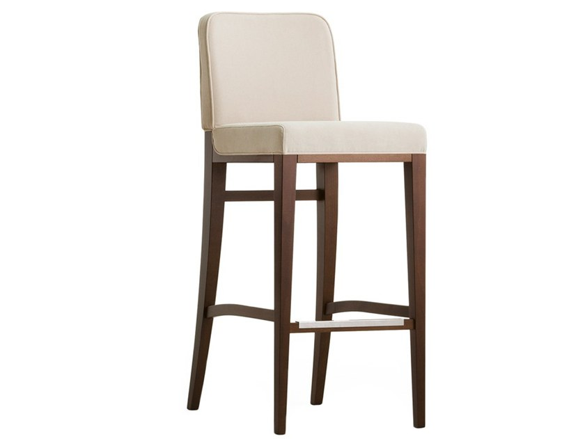High upholstered stool OPERA 02281 by Montbel