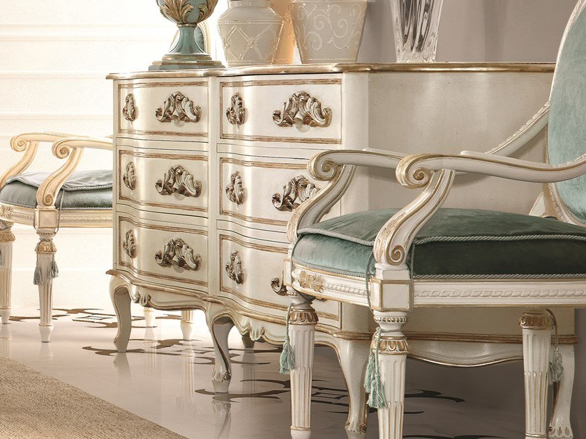 Lacquered chest of drawers OPERA | Lacquered chest of drawers by Andrea Fanfani