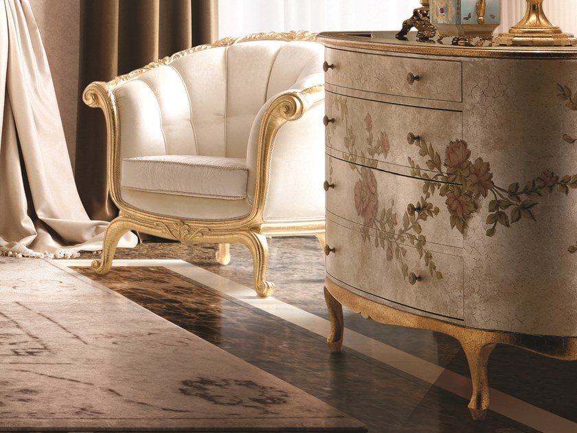 Lacquered chest of drawers OPERA | Chest of drawers by Andrea Fanfani