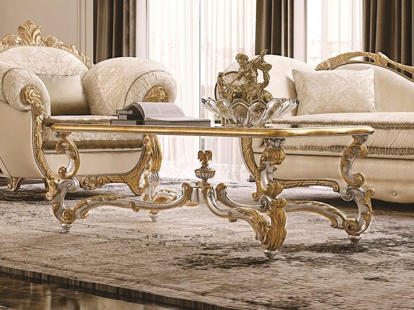 Rectangular coffee table OPERA | Rectangular coffee table by Andrea Fanfani