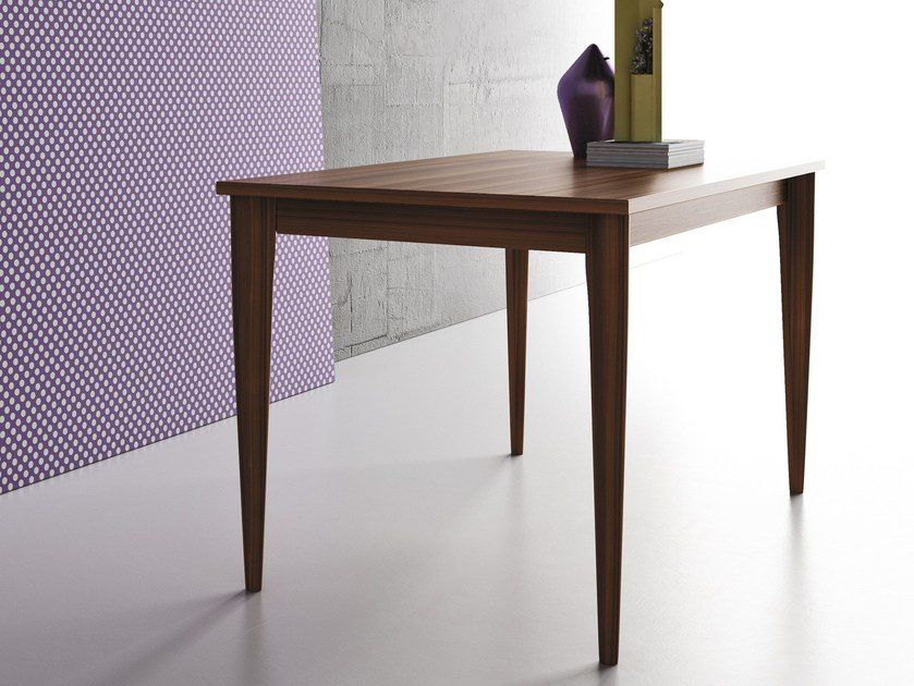 Extending rectangular solid wood contract table OPERÀ | Rectangular table by Imperial Line