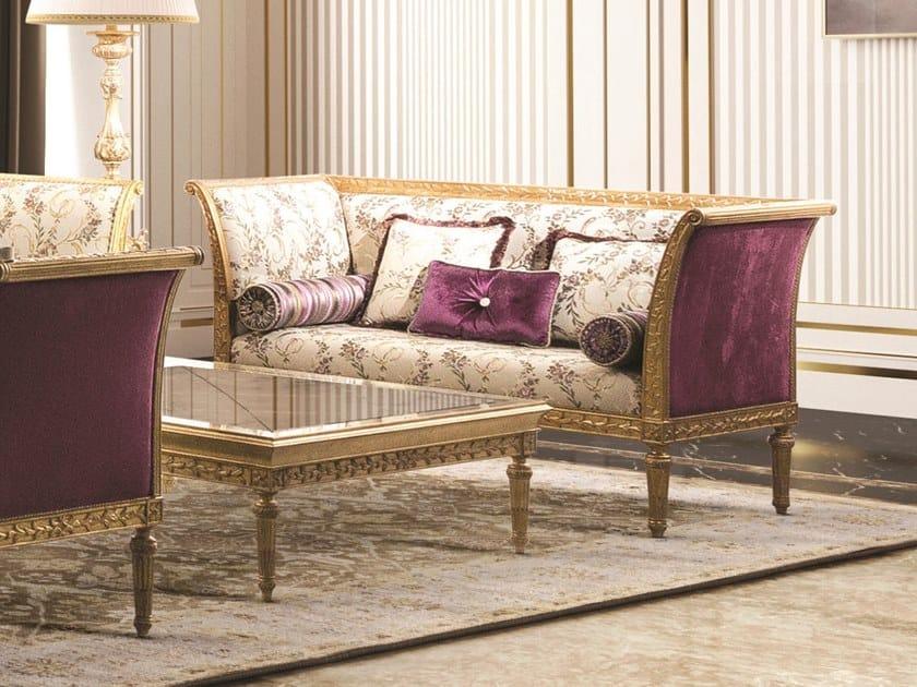 Fabric small sofa OPERA | Small sofa by Andrea Fanfani