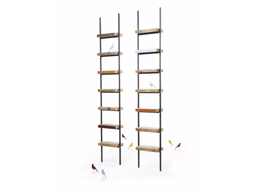 Open spruce shelving unit OPHELIA by Vontree