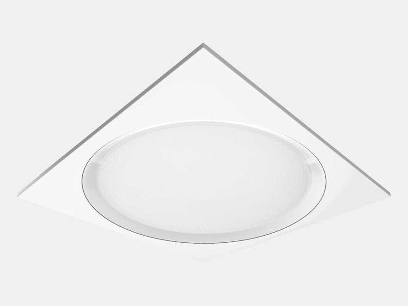 Recessed PMMA ceiling lamp OPPOSITE by ES-SYSTEM