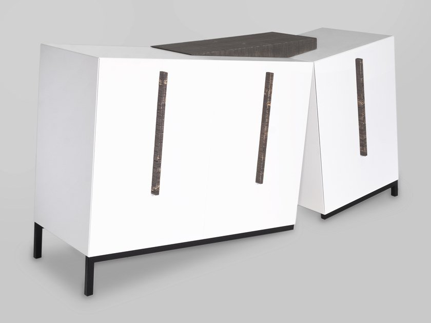 Madia laccata in MDF con cassetti OPS by ARKOF LABODESIGN