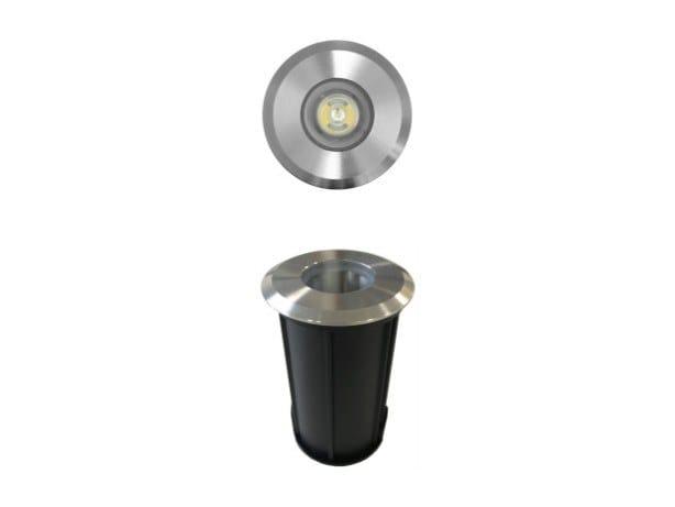 Segnapasso a LED in acciaio inox per esterni OPTIC by BENEITO FAURE
