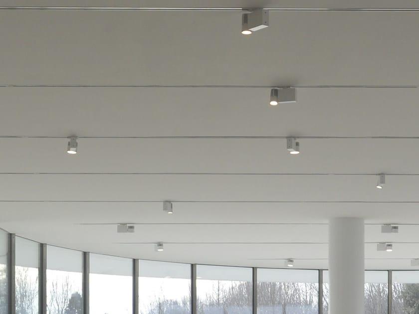 LED aluminium Track-Light OPTIK 100 by GLIP by S.I.L.E