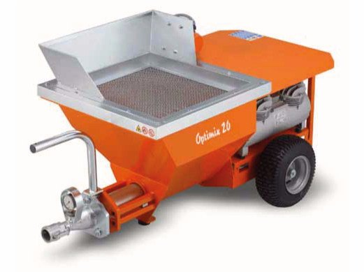 Plastering machine OPTIMIX 20 by malvin
