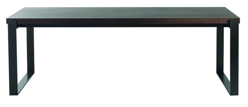Extending MDF dining table OPTIMUM by ROCHE BOBOIS