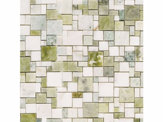 Marble mosaic OPUS VERDE by FRIUL MOSAIC