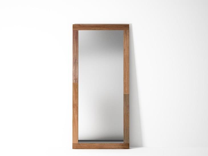 Countertop rectangular framed mirror ORGANIK OR37-TMH | Mirror by KARPENTER