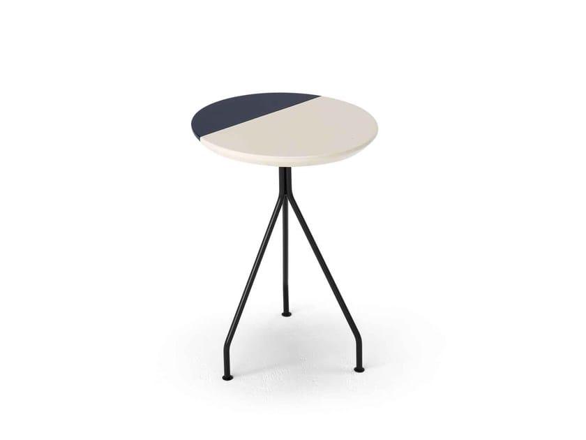 Round side table ORANGE by Dienne Salotti