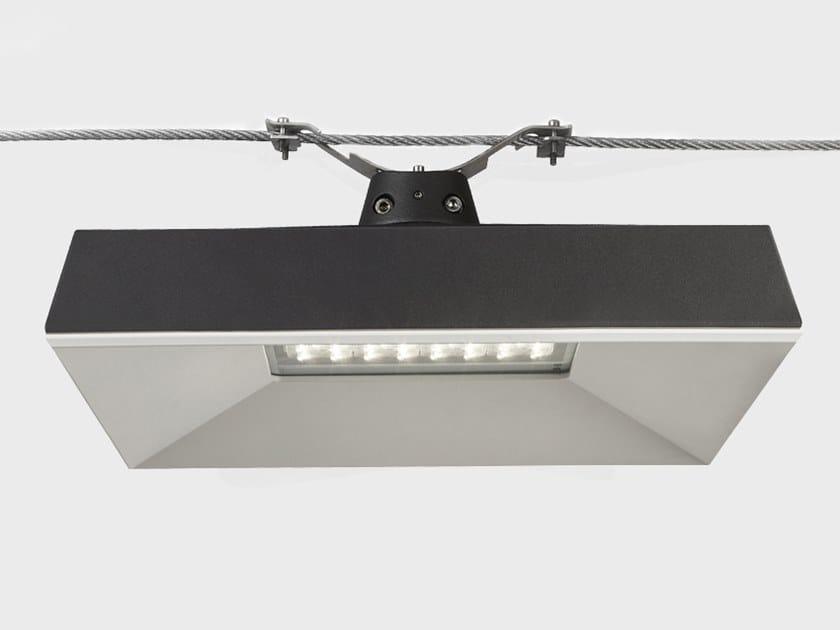 Lampada a sospensione per esterno a LED su cavi ORAO | Lampada a sospensione per esterno su cavi by Cariboni group