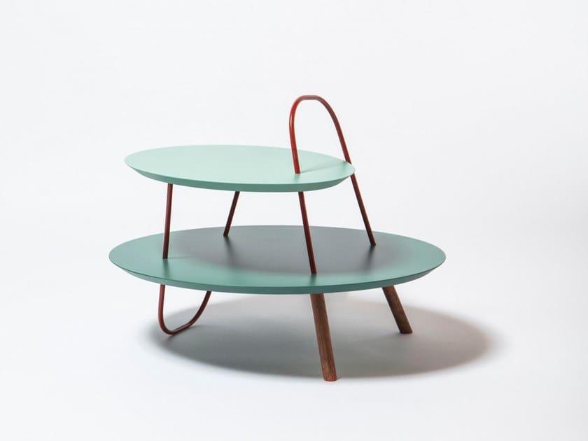 Round Wooden Coffee Table ORBIT L ORBIT Collection By Medulum - Orbit coffee table