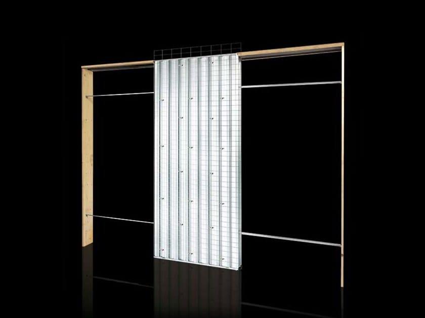Counter frame for opposite sliding doors ORCHIDEA | Counter frame for opposite sliding doors by FIBROTUBI