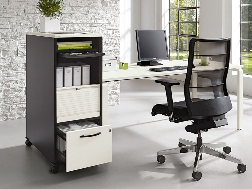 Office drawer unit with casters ORGA·PLUS | Office drawer unit with casters by PALMBERG
