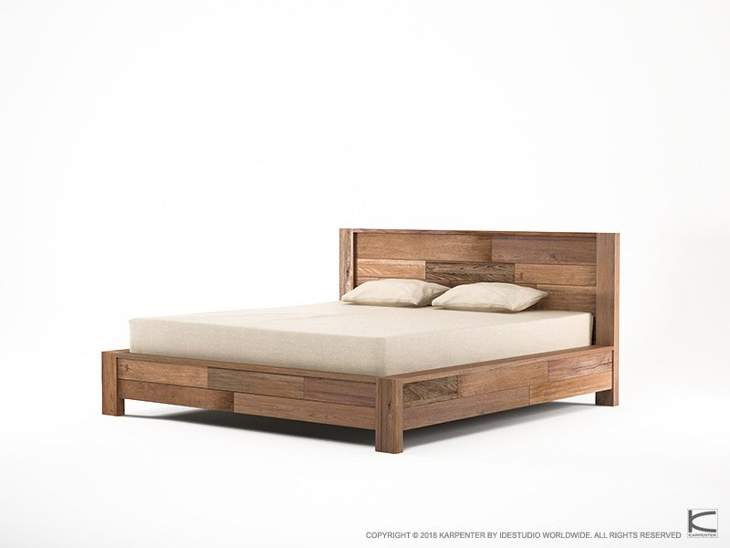 Free letto king size in legno organik letto king size by karpenter with dimensioni letto king size - Dimensioni letto king size ...