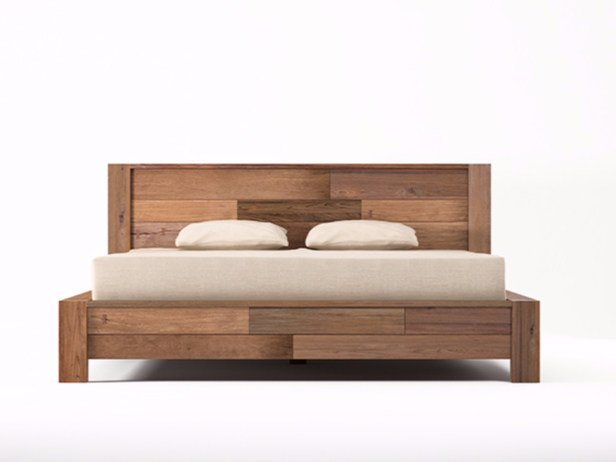 Wooden king size bed ORGANIK | King size bed by KARPENTER
