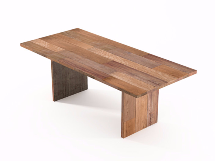 Rectangular wooden dining table ORGANIK OR09-TMH | Table by KARPENTER