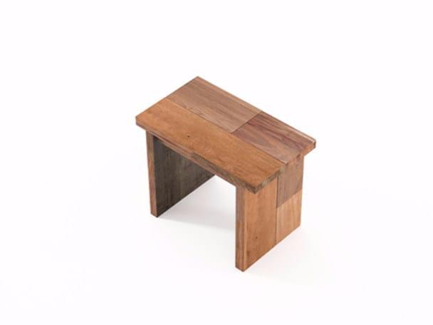 Wooden bench ORGANIK OR11-TMH | Bench by KARPENTER