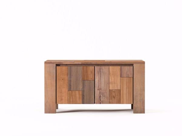 Wooden sideboard with doors ORGANIK OR15-TMH   Sideboard by KARPENTER