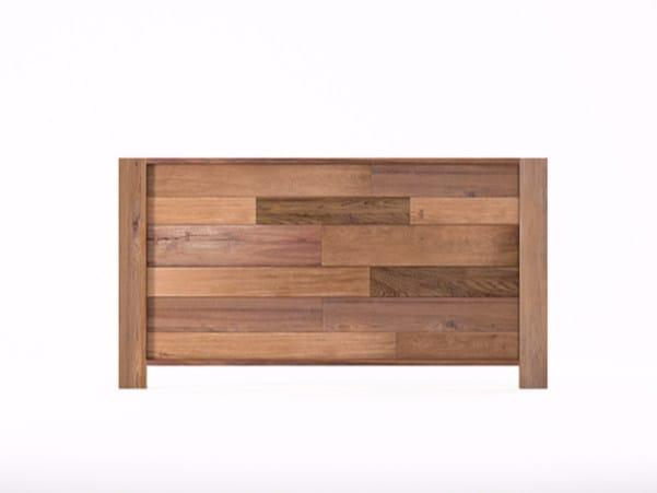 Wooden headboard for double bed ORGANIK OR29-TMH   Headboard by KARPENTER