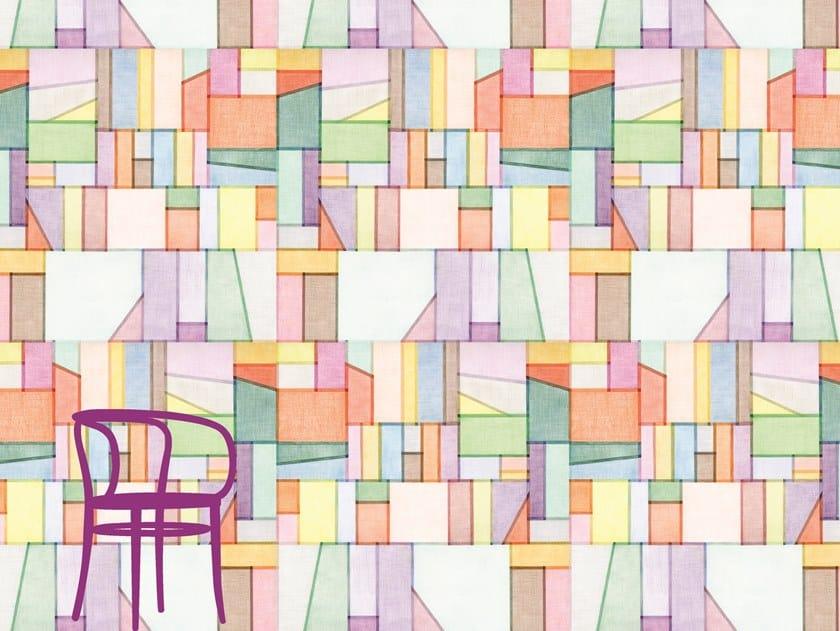 Carta da parati a motivi in tessuto non tessuto ORGANZA by Francesca Colombo