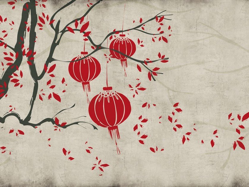 Fiberglass textile wallpaper ORI-02 by MOMENTI