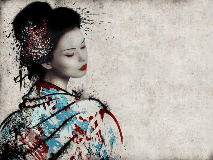 Fiberglass textile wallpaper ORI-04 by MOMENTI