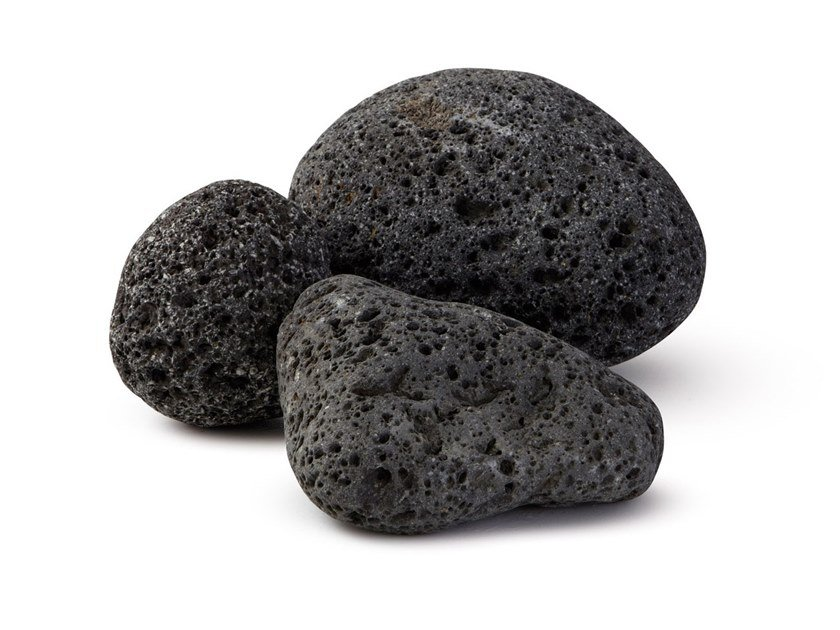Lava stone decorative pebbles ORIENTAL PEBBLES | Lava stone decorative pebbles by GRANULATI ZANDOBBIO