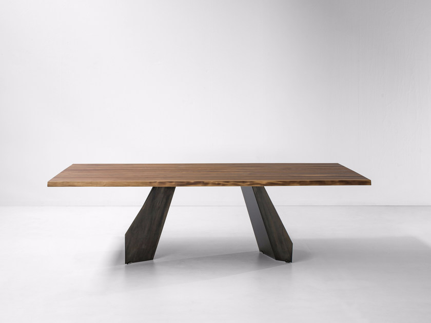 ORIGAMI | Wooden table Origami Collection By Bonaldo design Gino Carollo