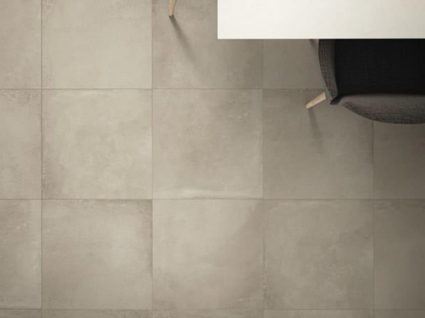 Porcelain stoneware flooring with concrete effect ORIGINI B by Ceramica d'Imola