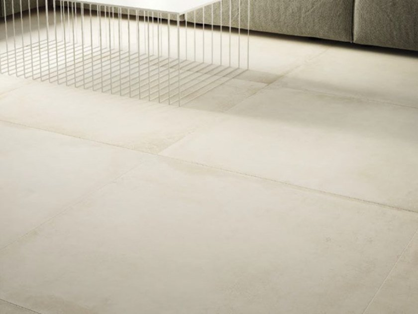 Porcelain stoneware flooring with concrete effect ORIGINI W by Ceramica d'Imola