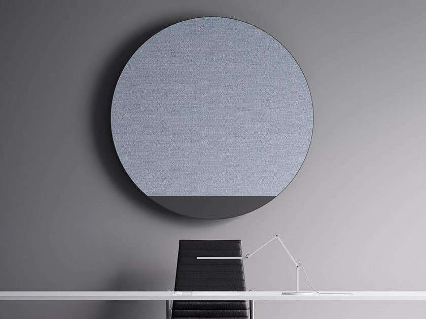 Hot-water wall-mounted aluminium decorative radiator ORIMONO by IRSAP