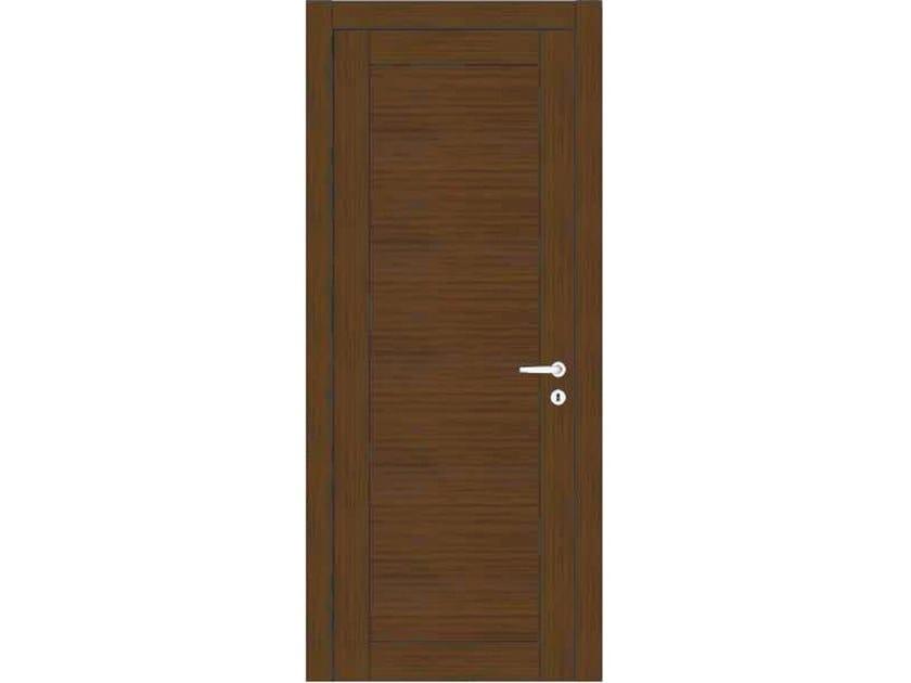 Hinged wooden door ORION 37 ROVERE MOKA by GD DORIGO