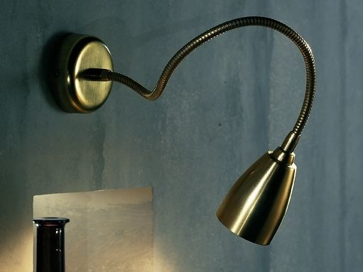 Brass wall lamp / ceiling lamp ORION F1 by LUCIFERO'S