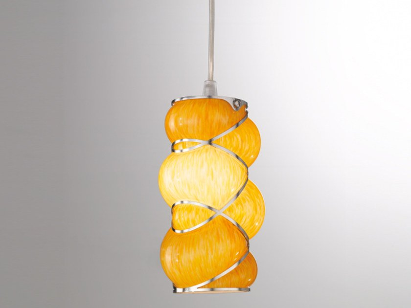 Murano glass pendant lamp ORIONE RS 384 by Siru